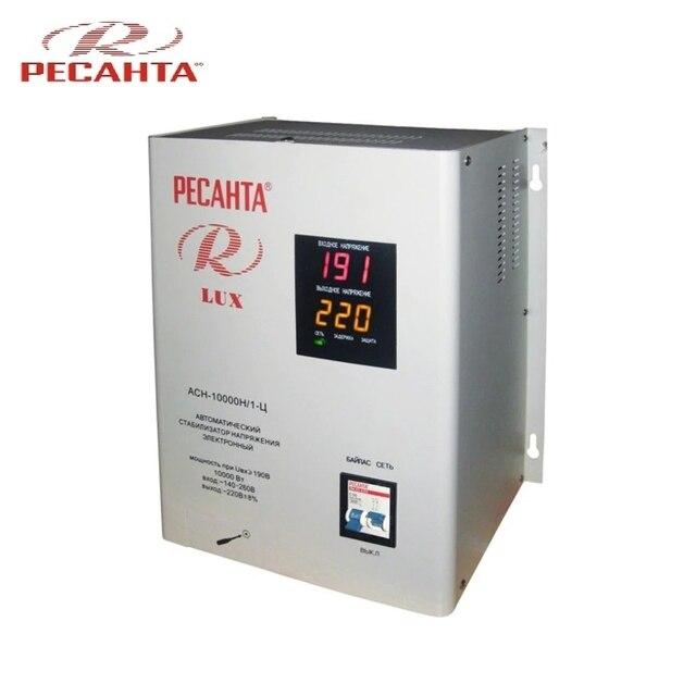 Однофазный стабилизатор напряжения Ресанта ASN-10000N/1-C LUX