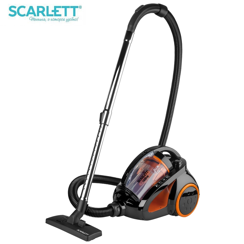 Vacuum Cleaner Scarlett IS-580 Vacuum cleaner for home Cyclone vacuum cleaners Shipping from Russia free shipping from russia hot sales lowest noise intelligent robot vacuum cleaner a320 for home