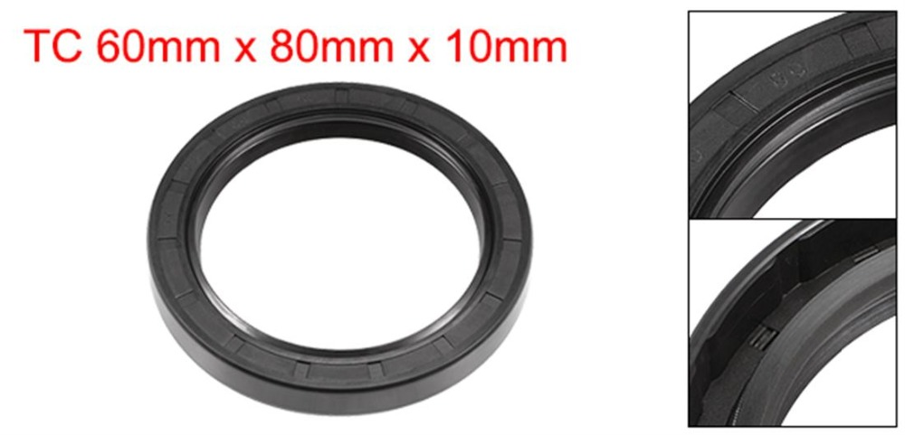 Metric Oil Shaft Seal 62 x 80 x 10mm Double Lip TC   Price for 1 pc