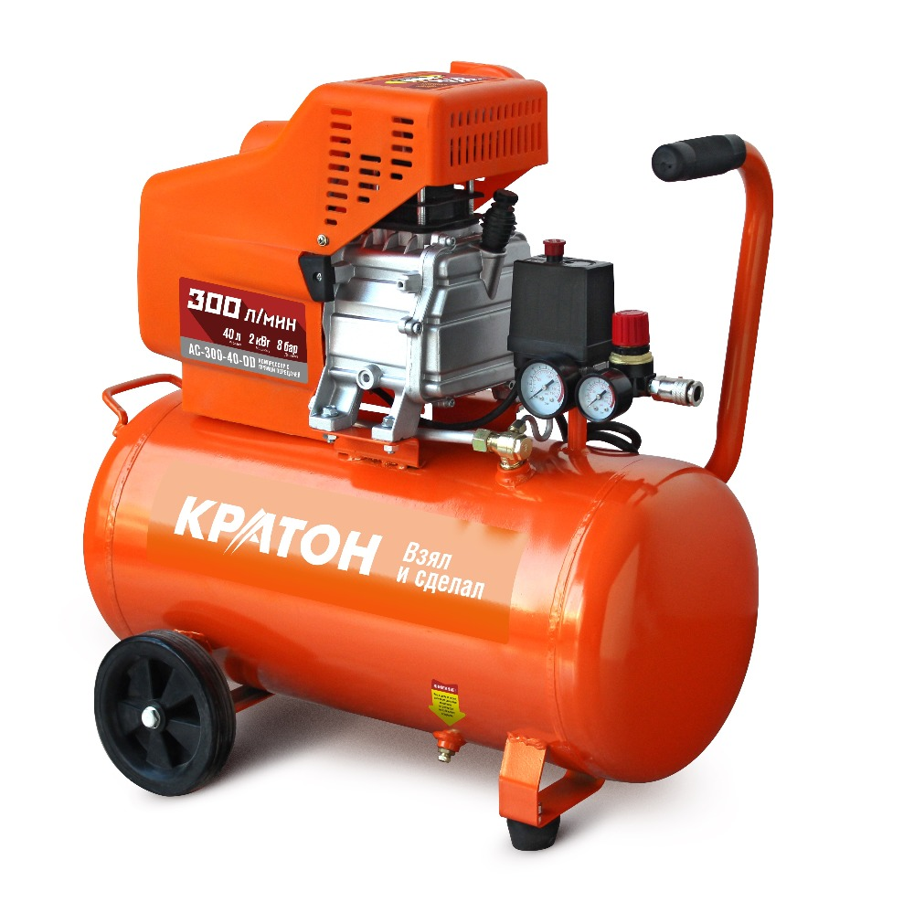 Compressor KRATON with direct transmission AC-300-40-DD compressor kraton with direct transmission ac 180 24 dd