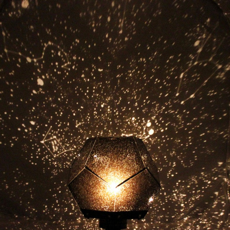 DIY Romantic Celestial Stars Astronomical Projection Universe Lamp Children Bedroom Decorative Lighting LED Night Light Lamp