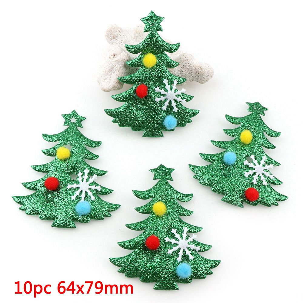 Christmas Tree Patch: Non Woven Patches Felt Christmas Tree Patches Die Cut