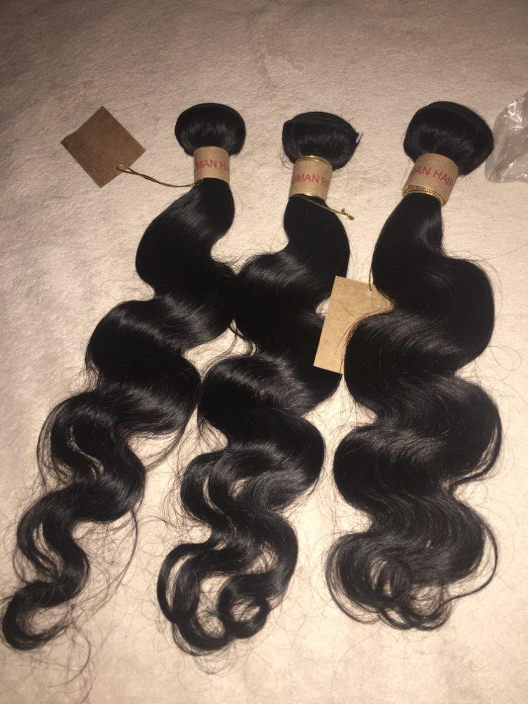 HairUGo Brazilian Body Wave Hair Weave Bundles With Closure Blonde Burgundy Ombre Human Hair Bundles With Closure Remy Hair