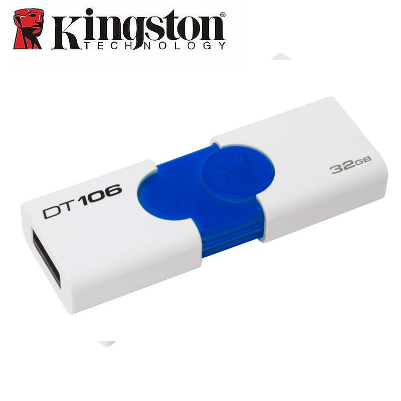 Kingston USB Flash Drive USB3.0 DT106 16GB/32GB 3.0 high Speed u disk 16GB/32G beth kanter 101 social media tactics for nonprofits a field guide