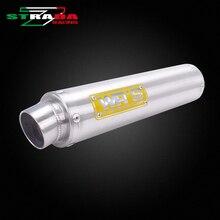 Aluminium Yoshimura WR'S Logo Exhaust pipe For Honda CB400 VTEC CBR400 NC23 XJR400 ZRX400 VFR400 Motorcycle Accessories