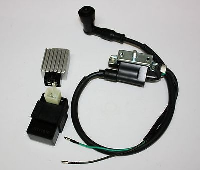 Cdi Unit Hearty Ignition Coil Regulator 90 110cc 125cc Pit Quad Dirt Bike Atv Buggy