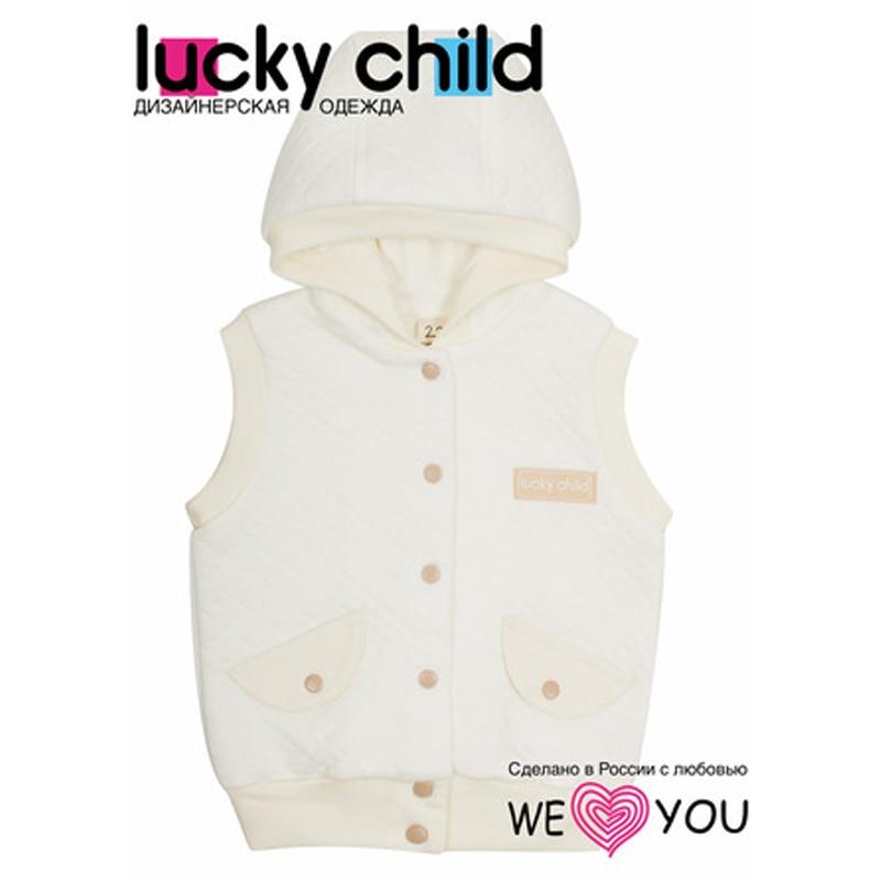 Children's Vest Lucky Child white vest