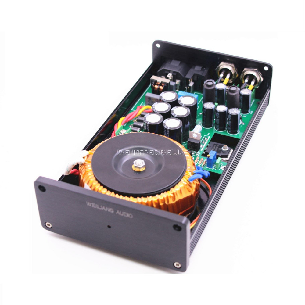 Offres chaudes nouveau 2019 50VA HIFI Ultra-faible bruit alimentation linéaire DC5V 9 V 12 V 15 V 18 V 24 V LPS PSU