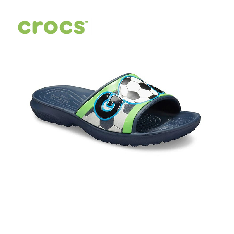 CROCS CrocsFL Sports Fan Slide K KIDS or boys/for girls, children, kids TmallFS shoes