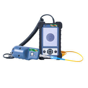 Image 2 - Komshine KIP 600V Fiber Optic Connector Inspection Video Inspection Probe and Display, Fiber Optic MicroScope 400 Magnification