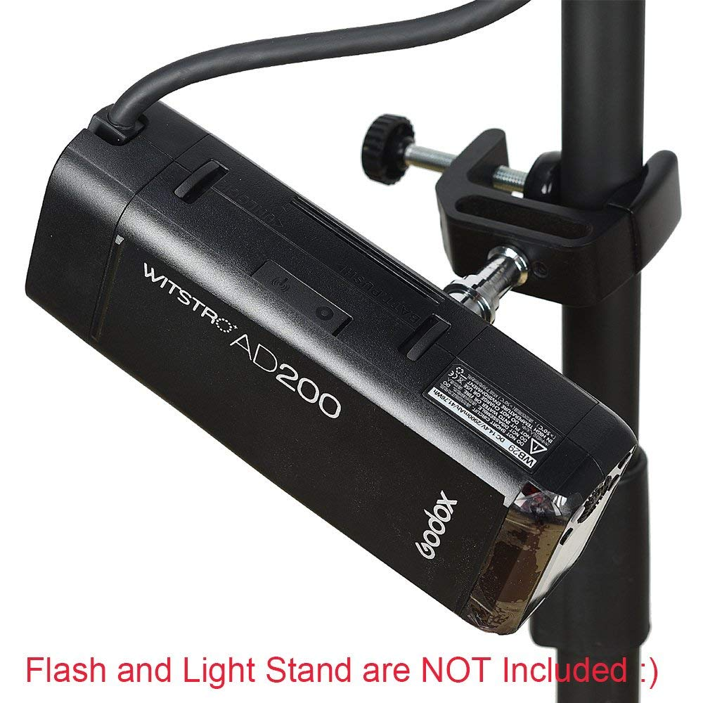 Image 5 - Godox EC200 200W Extension Flash Head for Godox AD200 Flashpoint  EVOLV 200 Pocket Flash, 2M Long Extend Cable, Works with AD200Flash  Accessories