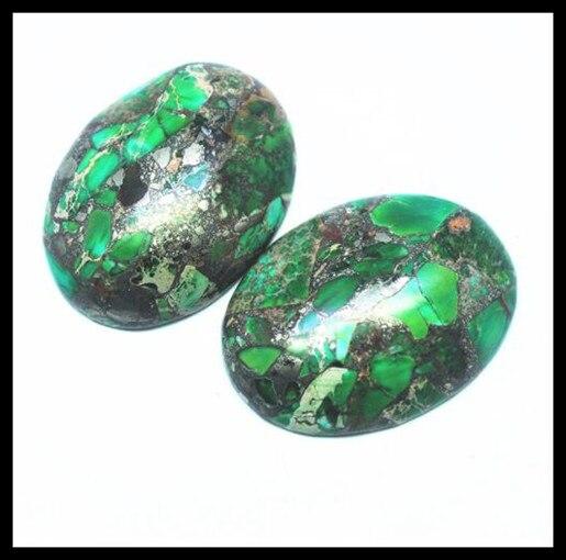 Greenprase Jasper Assorted Natural Greenprase Jasper Oval 42X27X6mm Cabochon Gemstone Loose Gemstone For Making Macrame /& Wrap Pendant