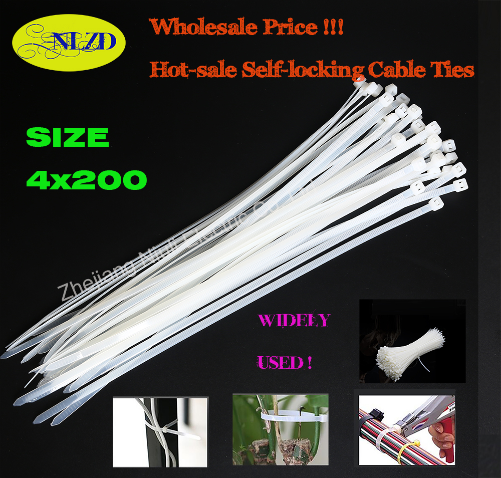 200mm 8 zoll 32% OFF Nylon Kabelbinder 500 Teile/paket 40lbs 3,6mm ...