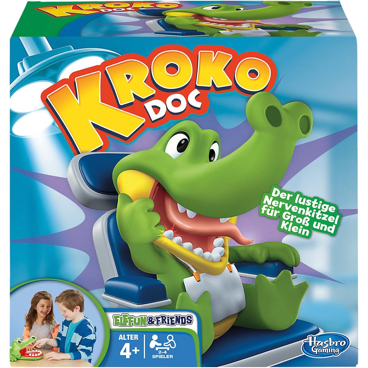 Jeux de fête HASBRO GAMING 3824997 jeu de société motricité Fine Dobble Rummikub jouets éducatifs