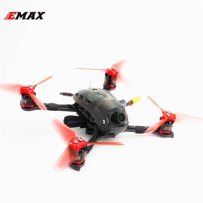 Emax Babyhawk R 3 Pouce 136mm F3 Magnum 5.8G FPV Racing Drone w/40CH 25/200 mW VTX PNP BNF compatible avec Frsky D8 Multicopter