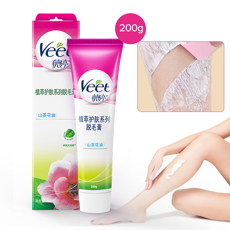 France Imports Veet Hair Removal Cream Gentle Moist With Camellia