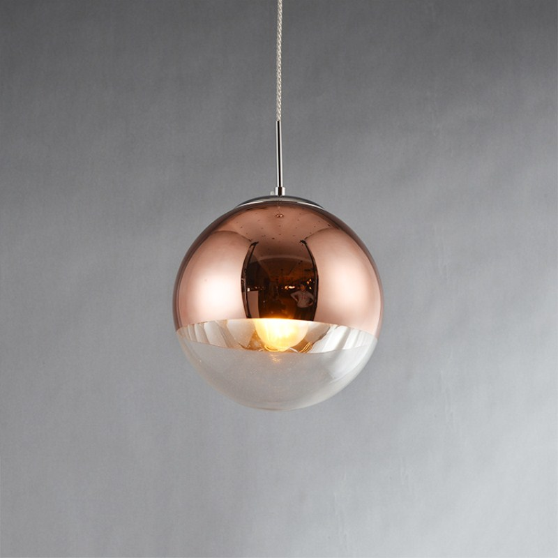 Northern Europe Retro Creative Concise Rose Gold Pendant Lamp Cafe Bar Restaurant Aisle Livingroom Decoration Lamp Free Shipping northern europe retro american style creative concise iron pendant lamp cafe bar restaurant decoration light free shipping