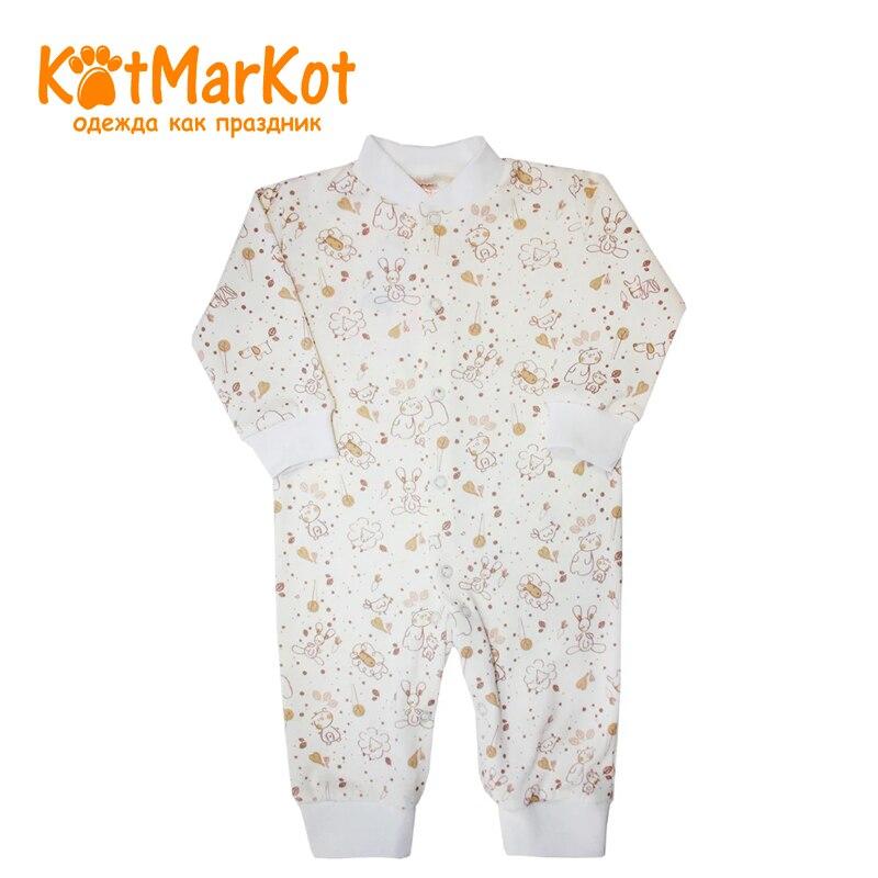 Jumpsuit Kotmarkot 6278 children clothing unisex for babies kid clothes newborn baby boy girl infant warm cotton outfit jumpsuit romper bodysuit clothes