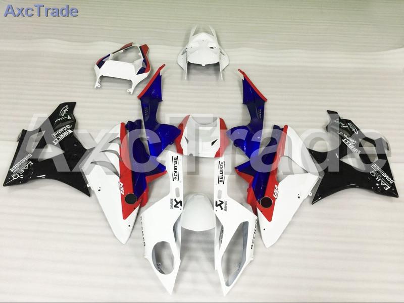Мотоцикл Обтекатели для BMW S1000RR С1000 2012 2013 2014 12 13 14 АБС-пластик инъекции обтекатель кузова комплект синий белый красный A471