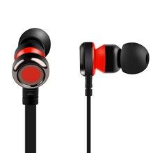 PTM Fone de Ouvido Com Fio fone de Ouvido Estéreo com Microfone Fones de Ouvido para Xiaomi Huawei Samsung Iphone fones de ouvido
