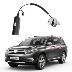 Dla Toyota Highlander elektryczne drzwi ssące samochodowe automatyczne zamki samochodowe akcesoria inteligencja drzwi ssące