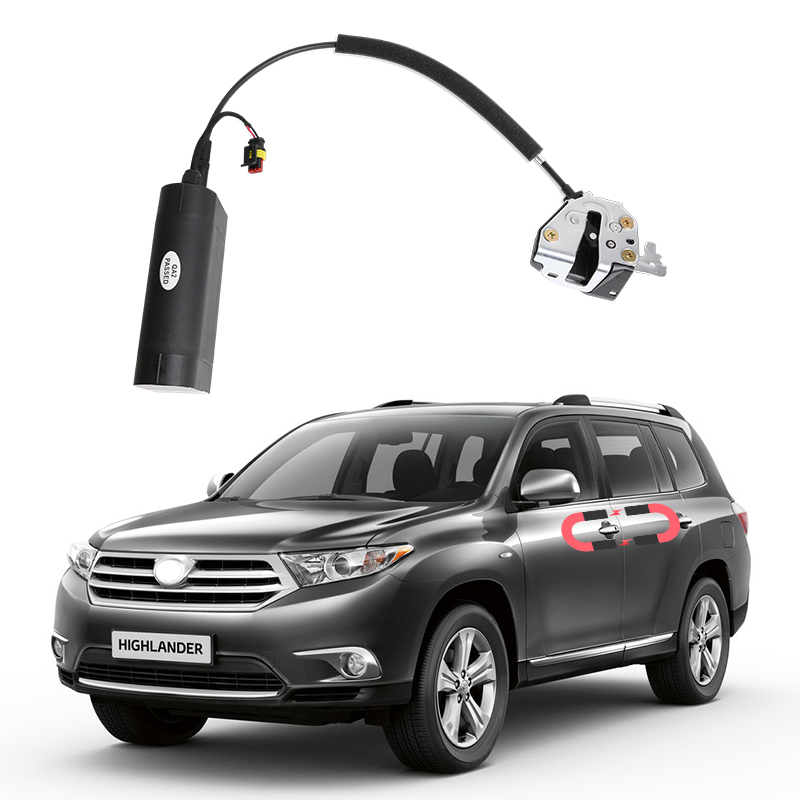 For Toyota Highlander Electric Suction Door Automobile Refitted Automatic Locks Car Accessories Intelligence Suction Door