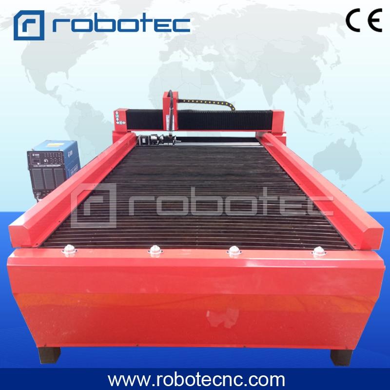 Robotec Cnc Plasma Cutting Machine Plasma Cutter 1325 1530 Cnc Metal Cutter With Start Fire Controller