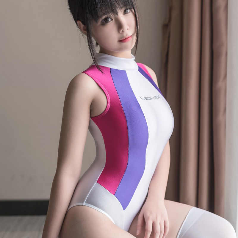 Japanese Anime Fate Zero Saber Swimsuit One Piece Sexy Black Cosplay Costume Tankini Swimwear Slim Body Suit SUKUMIZU Big Sale