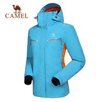 CAMEL Men Women Winter Outdoor Sport Jacket Thermal Waterproof Breathable Windbreaker Skiing Snowboard jacket