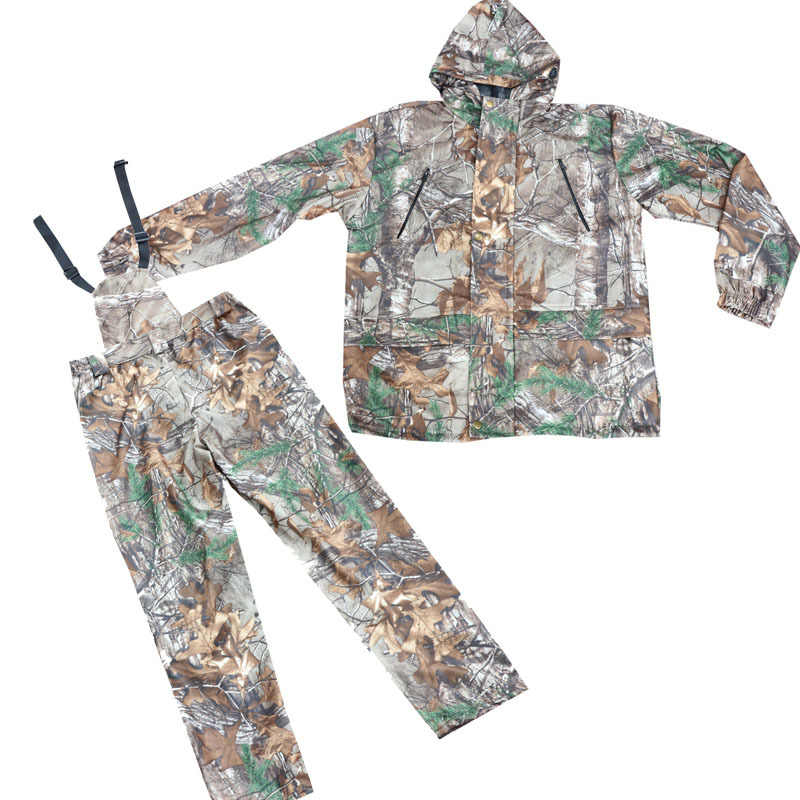 Army Fan Shooting Training Tactical Snipper Clothes Outdoor Hunting Bird Watching Waterproof Bionic Camouflage Jacket And Pants