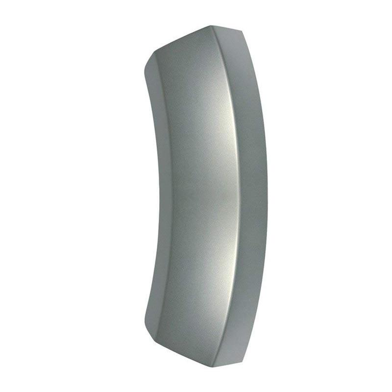 Silver Plastic Tumble Dryer Door Handle For Bosch WTW86561CH//01 WTW86561CH//02