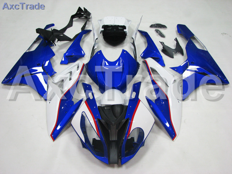Motorcycle Fairings Kits For BMW S1000RR S1000 2015 2016 15 16 ABS Plastic Injection Fairing Bodywork Kit Blue White A445 motorcycle blue bodywork kit fairing for bmw s1000rr s 1000 rr s 1000rr 2015 15 injection mold fairings cowl set uv painted