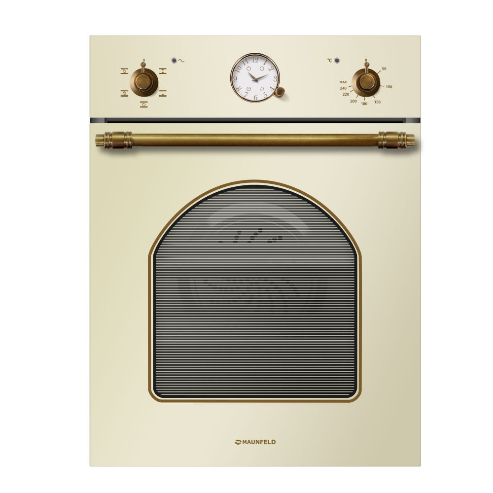 Electric brass cabinet MAUNFELD MEOXS 436 RIB. TA beige