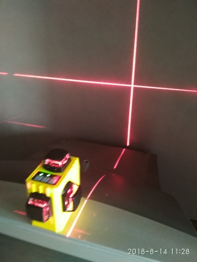 XEAST XE-61A 12 lines laser level 360 Self-leveling Cross Line 3D Laser Level Red Beam adjustable accuracy shipping from Russian