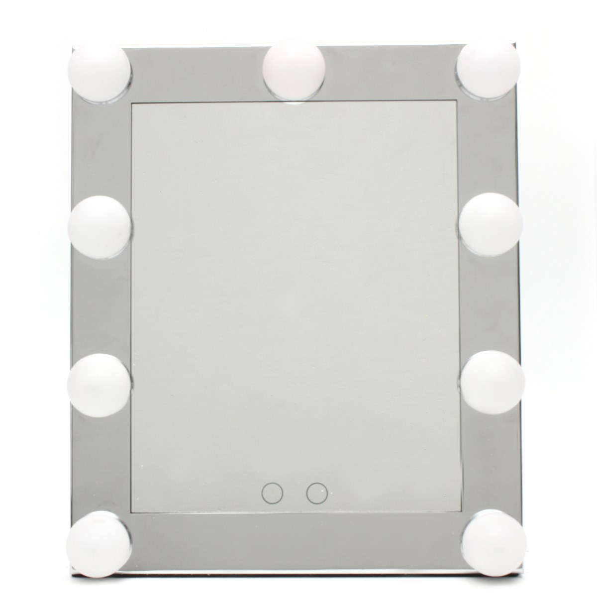 Professional led touch screen lighted vanity mirror for Large stand up mirror