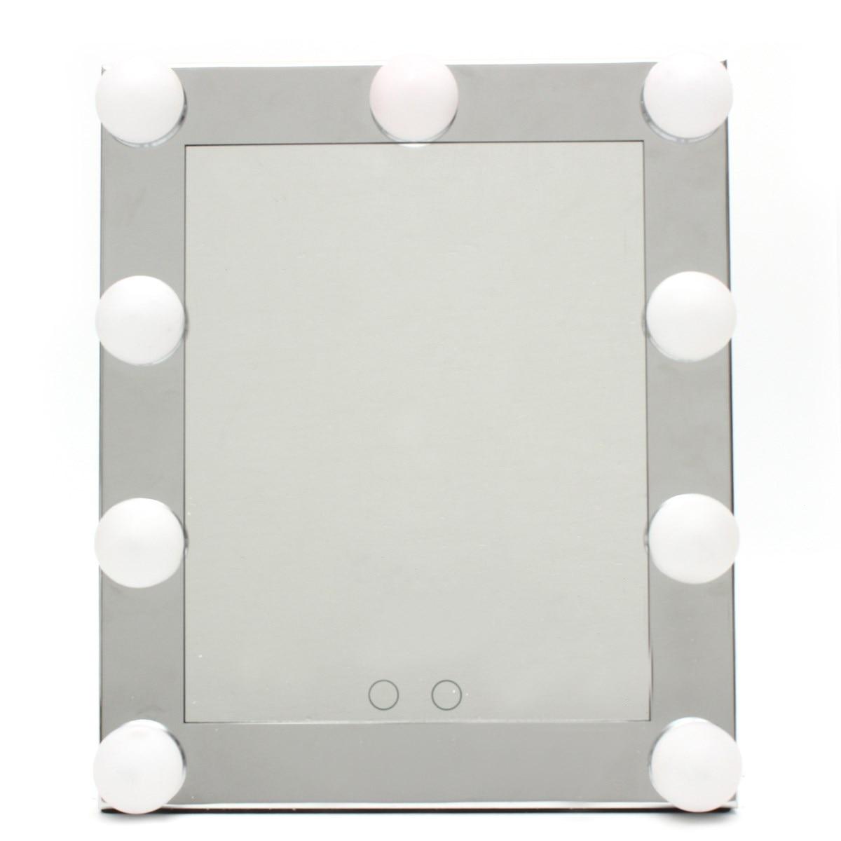 Specchi Professionali Per Trucco.Us 56 86 12 Di Sconto Professionale Led Touch Screen Illuminato Vanity Specchio In Piedi Da Tavolo Specchi Grande Salone Di Bellezza Del Desktop