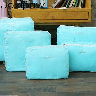 5 PCS Travel Luggage Packing Cube Bag Set Clothes Organizer Storage Bag Kit Travel Accessory Joxipaw ...