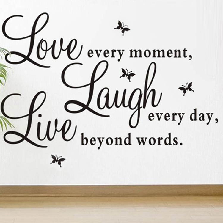 Wall Sayings Decor popular wall sayings decor-buy cheap wall sayings decor lots from