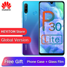 Глобальная версия опционально оригинальный смартфон huawei P30 Lite Nova 4e Восьмиядерный Android 9,0 сканер отпечатков пальцев 3340 мАч 4 камеры телефон