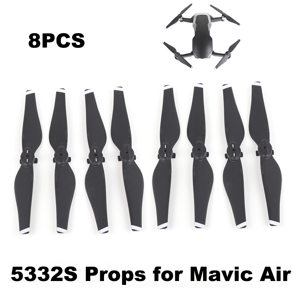 4 Pairs 5332S Propeller for DJI Mavic Air Drone Quick Release Blade 5332 Props Durable Spare Parts Replacement Accessories Wing4 Pairs 5332S Propeller for DJI Mavic Air Drone Quick Release Blade 5332 Props Durable Spare Parts Replacement Accessories Wing