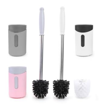 Toilet Brush Head Floor-standing Wall-mounted Base Cleaning Brush For Toilet WC Bathroom Accessories Set Household фото