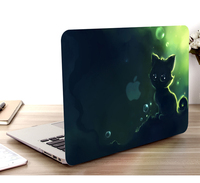 """keyboard plastic case Plastic Hard Case Cover Laptop Shell Keyboard Cover For Macbook Air11 13 Pro Retina Touch Bar 12 13 15"""" Screen Film Dust Plug (2)"""