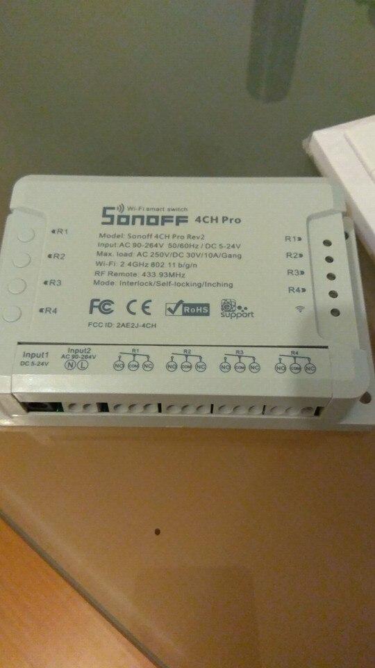 Sonoff Input Module