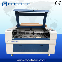 ФОТО robotec 80W co2 foam laser cutting machine 1325/ foam machine/ rubber laser cutting machine price