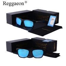 2ad80e00e7 Reggaeon marca cuadrado señoras hombres polarización driving gafas retro  alta calidad de aluminio y magnesio pierna sol