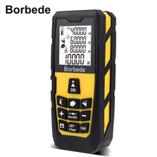 Laser Distance Measure Meter 40m/60m/80m/100m Portable Rangefinder Area/Volume/Pythagorean Digital Tape