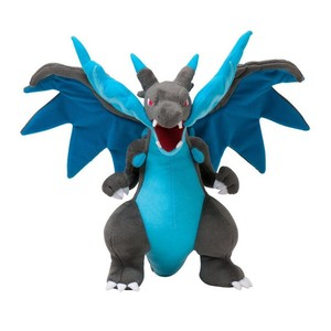25CM Anime Figure Charizard Plush Dolls Mega evolution X Charizard Soft Stuffed Animals Plush Doll Kids Children Christmas Gift