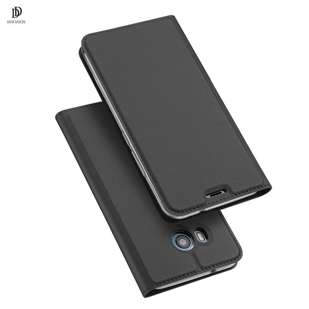 DUX DUCIS En Cuir Flip Cas pour HTC U11 PLUS Portefeuille Capas cas de Couverture de Livre pour HTC U11 U11 VIE Cas