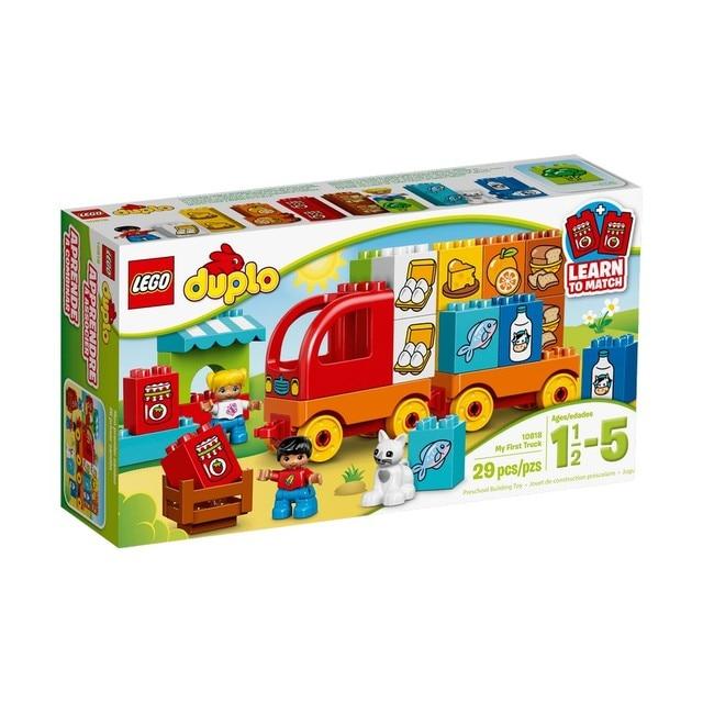 Конструктор LEGO DUPLO Мой первый грузовик 10818-L
