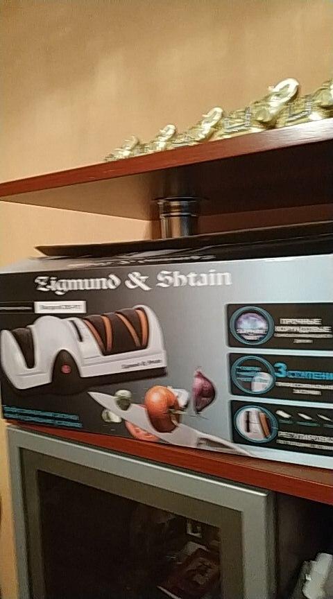 Zigmund & Shtain ZKS-911 Sharpener 60W Sharpeners 3 stages of sharpening Rotational speed 2800 rpm Sharpening time 10-120 sec